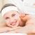 beautiful blonde enjoying a massag stock photo © wavebreak_media