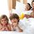 завтрак · родителей · семьи · продовольствие · улыбка - Сток-фото © wavebreak_media