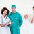 portré · aranyos · orvosok · megvizsgál · beteg · kórház - stock fotó © wavebreak_media