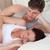 hartelijk · jonge · man · naar · zwangere · vrouw · slapen - stockfoto © wavebreak_media