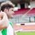 определенный · мужчины · спортсмена · веса · стадион · человека - Сток-фото © wavebreak_media