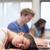 Porträt · müde · Studenten · schlafen · Klassenzimmer · Frau - stock foto © wavebreak_media