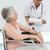 doctor talking to a senior patient in wheelchair stock photo © wavebreak_media