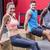 muscular athletes doing reverse push up stock photo © wavebreak_media