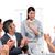 üzletasszony · bemutató · fehér · nő · munka · üzletember - stock fotó © wavebreak_media