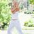 jeune · femme · parc · sport · beauté · été · vert - photo stock © wavebreak_media