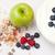appel · bessen · room · witte · achtergrond · aardbei - stockfoto © wavebreak_media