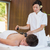 Man receiving stone massage at spa center stock photo © wavebreak_media