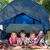feliz · irmãos · camping · trio · árvore - foto stock © wavebreak_media