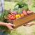 farmer giving box of veg to customer stock photo © wavebreak_media