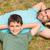 man · zoon · familie · gelukkig · kind - stockfoto © wavebreak_media