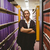 abogado · pie · biblioteca · ley · libro · retrato - foto stock © wavebreak_media