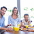happy family having breakfast together stock photo © wavebreak_media