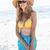 smiling pretty blonde wearing sun glasses and looking at camera stock photo © wavebreak_media