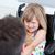 dziewczynka · posiedzenia · wózek · szpitala · dziewczyna · dzieci - zdjęcia stock © wavebreak_media