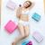 erotyczne · kobieta · bed · domu · zakupy - zdjęcia stock © wavebreak_media