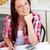 öğrenci · ödev · ev · mutfak · kadın - stok fotoğraf © wavebreak_media