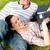 szczęśliwy · studentów · za · pomocą · laptopa · wraz · kobieta · kawy - zdjęcia stock © wavebreak_media