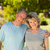 portrait of a lovely senior couple stock photo © wavebreak_media