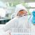 保護された · 科学 · 見える · 試験管 · 室 · 顔 - ストックフォト © wavebreak_media