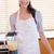 portret · vrouw · poseren · keuken · voedsel - stockfoto © wavebreak_media