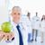 grünen · Apfel · Arzt · medizinischen · Team · hinter - stock foto © wavebreak_media