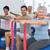 homme · entraîneur · yoga · studio - photo stock © wavebreak_media