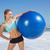 sportos · boldog · szőke · nő · áll · tengerpart · napos · idő - stock fotó © wavebreak_media