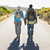 Attractive couple walking on the road holding hands stock photo © wavebreak_media