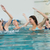 female fitness class doing aqua aerobics stock photo © wavebreak_media