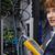 boldog · technikus · digitális · kábel · szerver · nagy - stock fotó © wavebreak_media