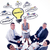 composite image of business team sitting in circle and discussin stock photo © wavebreak_media