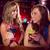 barman · cócteles · amigos · potable · bar · alegre - foto stock © wavebreak_media