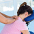 woman having neck massage stock photo © wavebreak_media