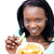Charming young woman eating fries  stock photo © wavebreak_media