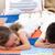 irmãos · adormecido · cama · quarto · casa · criança - foto stock © wavebreak_media
