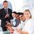 幸せ · ビジネスチーム · プレゼンテーション · 拍手 · ビジネス · モデル - ストックフォト © wavebreak_media
