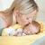 матери · целоваться · ребенка · поцелуй · улыбаясь - Сток-фото © wavebreak_media