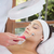 Peaceful brunette getting micro dermabrasion from beauty therapi stock photo © wavebreak_media
