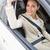 счастливым · ключевые · сидят · Новый · автомобиль - Сток-фото © wavebreak_media