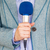 журналист · микрофона · телевизор · радио · женщины - Сток-фото © wellphoto
