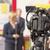 sajtótájékoztató · esemény · videókamera · hírek · konferencia · televízió - stock fotó © wellphoto