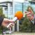 記者 · インタビュー · ビジネスマン · クローズアップ · 手 · テレビ - ストックフォト © wellphoto