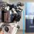 video camera in focus blurred spokesperson in background stock photo © wellphoto