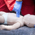 baby cpr dummy first aid training heart massage foto stock © wellphoto