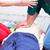emergencia · médico · masaje · ambulancia · mujer · coche - foto stock © wellphoto