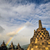 stupa rainbow buddist temple borobudur complex in yogjakarta in stock photo © weltreisendertj