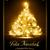 クリスマスツリー · ライト効果 · 暗い · ブラウン - ストックフォト © wenani