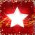 dourado · alegre · natal · estrelas · vermelho · bokeh - foto stock © wenani