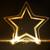 golden glowing star frame stock photo © wenani